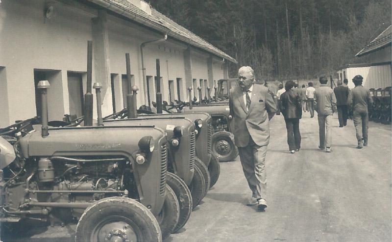Establishment of the Gledring company