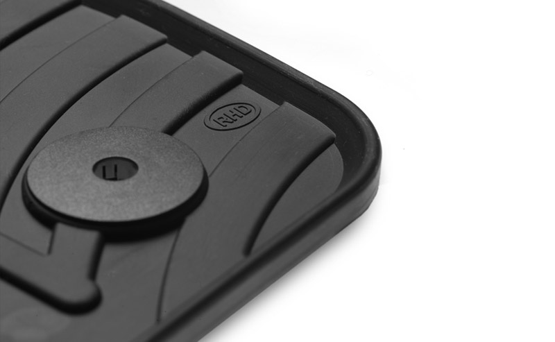 Started to manufacture rubber car mats for the right-hand countries